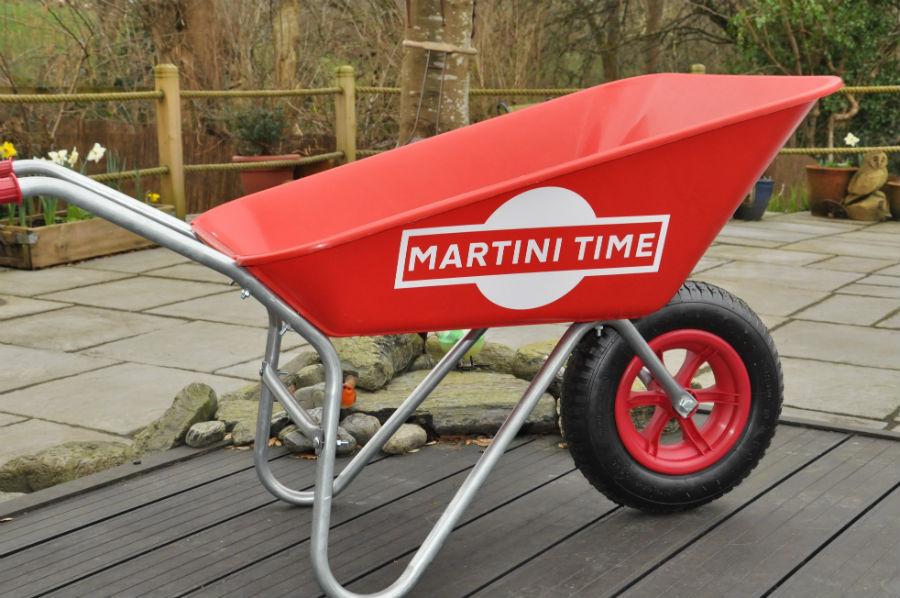 Martini Time Wheelbarrow