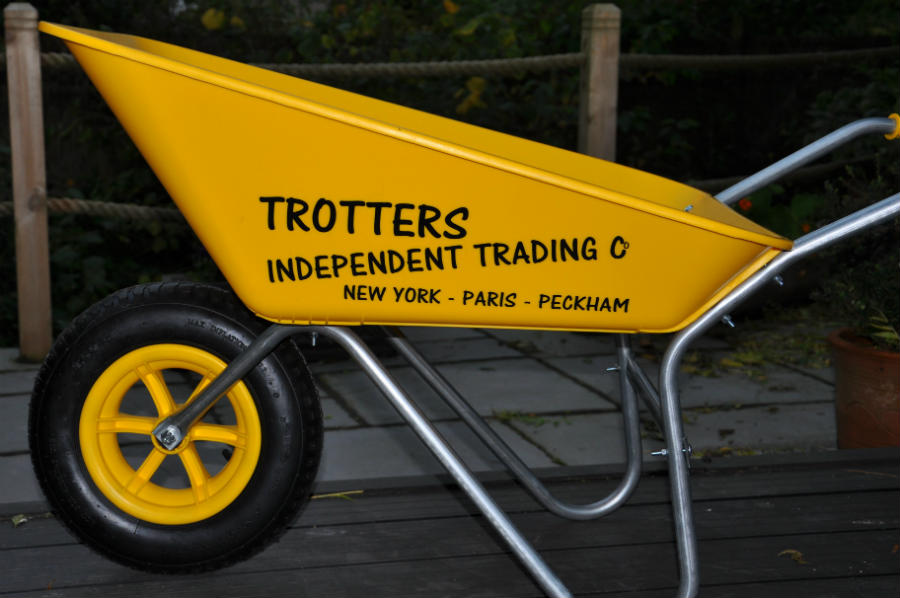Only fools and horses wheelbarrow trotters