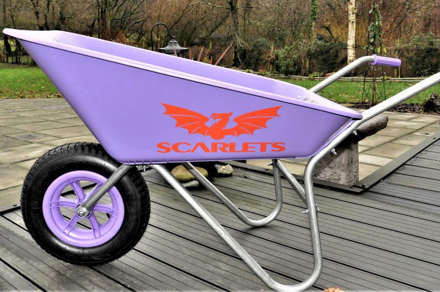 Scarlets Wheelbarrow