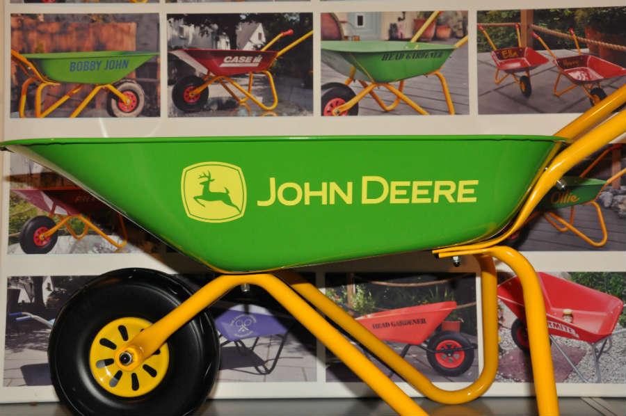 John Deere Childrens Wheelbarrow