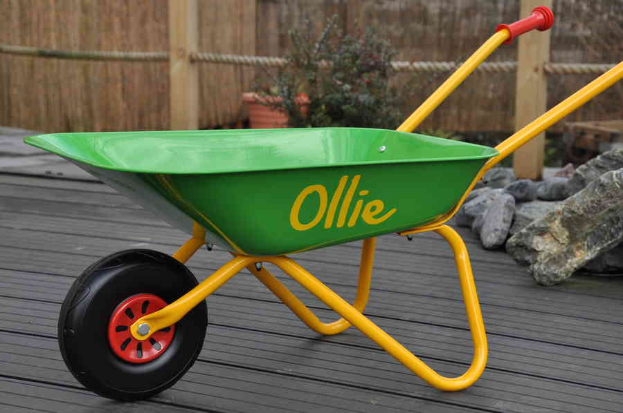 Personalised Wheelbarrows 1