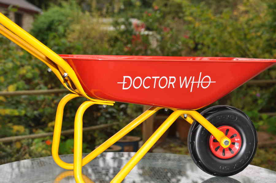 Personalised Wheelbarrows 3