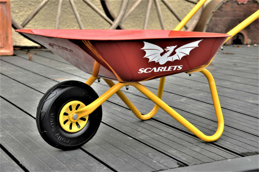 Scarlets Childrens Wheelbarrow