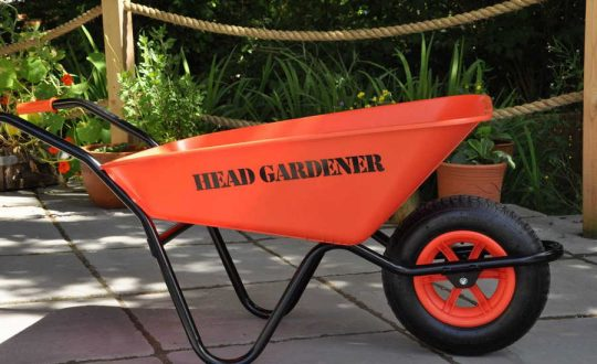 Head Gardner Wheelbarrow personalised