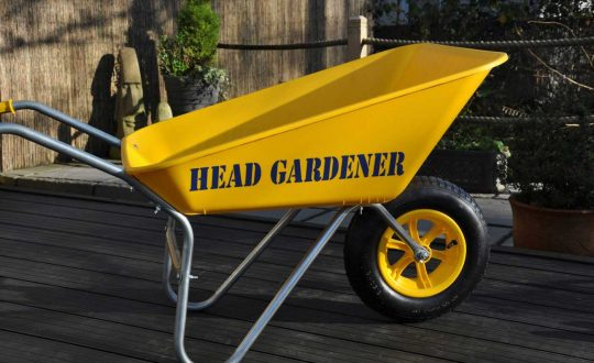 head-gardner wheelbarrow-yellow